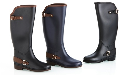 Sociology Women's Riding Rain Boots