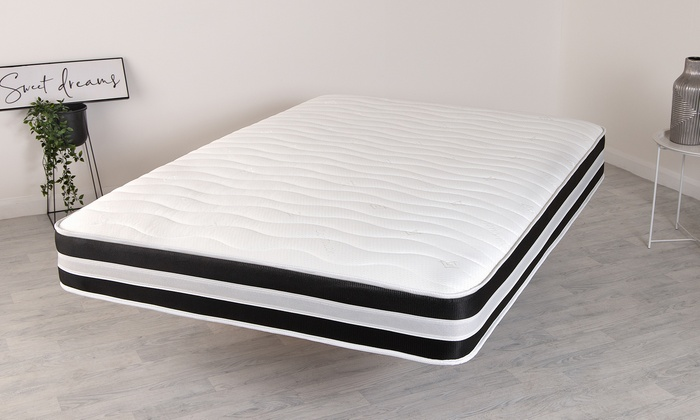 Micro Quilted 3D Memory Foam Spring Mattress from £70 (76% OFF)
