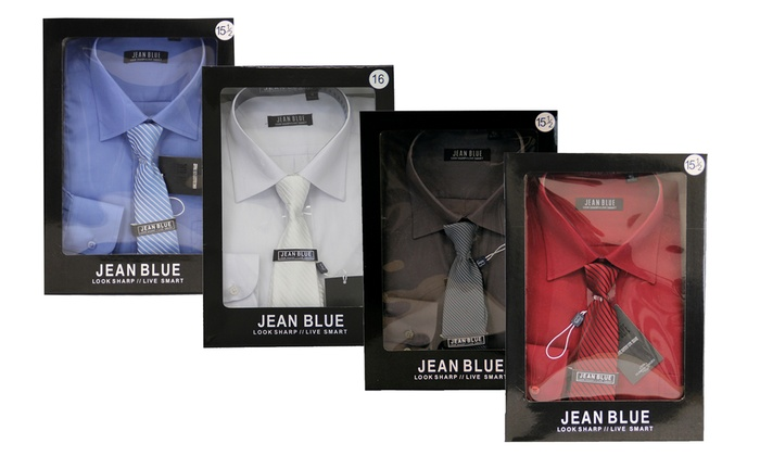 c1fdba19c311 Men's Formal Shirts and Tie Sets | Groupon Goods