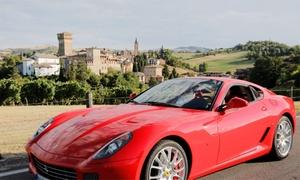 Maranello Tour: Test drive su Ferrari California a Maranello con tutor, più aperitivo e gadget originale con Maranello Tour