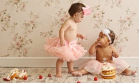 Baby Cake Smash Photoshoot with Prints at Icon Photography Studios (89% Off)