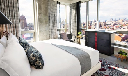 Stay at the 4.5-Star Hotel 50 Bowery NYC, with Dates into April