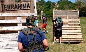 Terranima: 1 ou 2 parties de laser game en extérieurpour 6 joueurs avec 2 grenades fumigènes dès 39,90 € chez Terranima