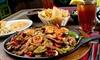 Entrée, Plat et dessert au saveurs mexicaines