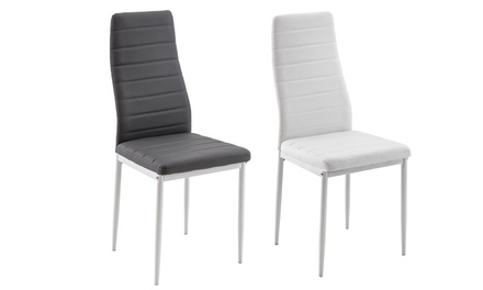 Set di 4 sedie TFT Furniture Carolina, disponibili in 2 colori