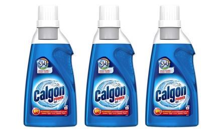 Fino a 9 flaconi di Calgon gel 3 in 1 anticalcare per lavatrice