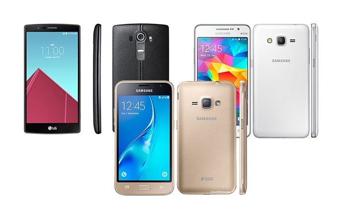 Samsung or LG Smartphone at Wireless and Repair