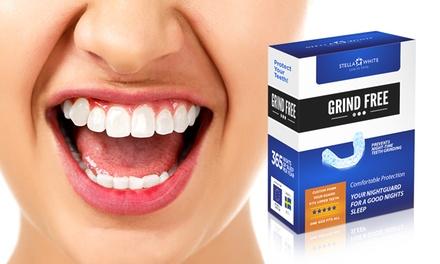 Antitandenknars bitjes om schade aan de tanden te verminderen