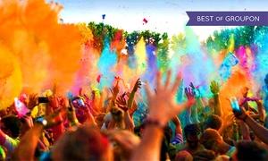 Farbgefühle Holi Festival 2017: 2x Farbgefühle Holi Festival im Sommer 2017 in 17 Städten, u. a. Berlin, Leipzig, HH, Köln, Neuss, München (50% sparen)