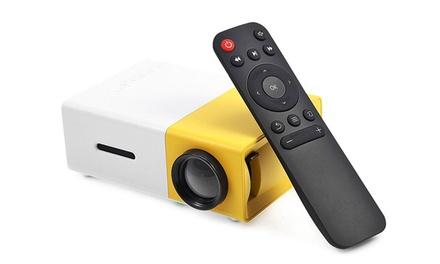 1x oder 2 x Kabelloser Full HD mini LED-Video-Beamer mit Akku kabellosinkl. Versand (Stuttgart)