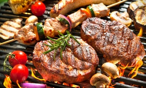 Areia Beach Bar & Grill at Double Tree by Hilton Jumeirah Beach: BBQ, Unlimited Drinks and Pool for Up to Four at Areia Beach Bar & Grill at Double Tree by Hilton JBR (Up to 51% Off)