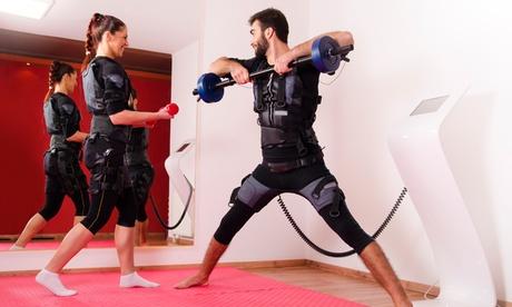4 o 8 sesiones de entrenamiento con chaleco de electroestimulación y entrenador personal desde 39,90 € en Vital Studio