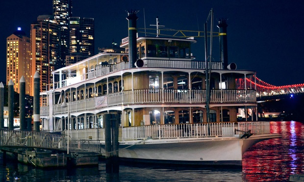 Romantic City Lights Dinner Cruise Kookaburra Showboat