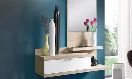 Recibidores con espejo disponible en varios modelos