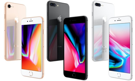 Apple iPhone 8 or 8 Plus 64GB or 256GB Unlocked in Choice of Colour With Free Delivery