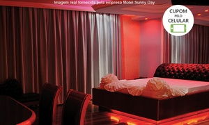 Motel Sunny Day - Contagem: Motel Sunny Day – Contagem: período de 3 horas ou pernoite em suíte Standard ou Hidro Especial