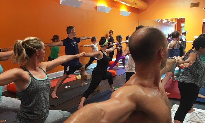 One Month Of Unlimited Hot Yoga Red Hot Yoga Massage Groupon
