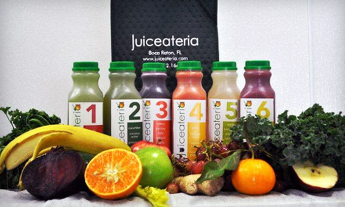 Juiceateria - Royal Palm Civic and Shopping Center: $39 for a Four-Hour Detoxifying Juicing Class with Recipes and Organic Take-Home Juices at Juiceateria ($95 Value)