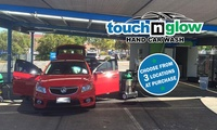 Car Wash: Basic Touch ($15) or Deluxe Touch ($49) at Touch n Glow Hand Car Wash, Three Locations (Up to $102 Value)