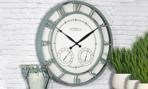 FirsTime & Co. Outdoor Living Wall Clocks