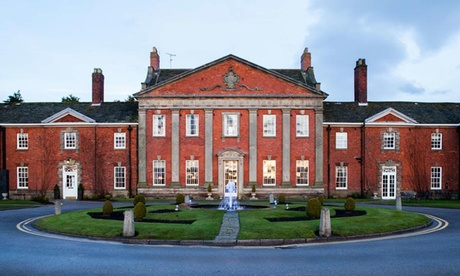 Cheshire: Double or Twin Room for Two with Breakfast, Champagne and Option for 2 AA Rosette Dinner at Mottram Hall from Mottram Hall