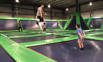 90-Minute All-Access Pass and One-Year Membership for One or Two at Rebounderz (Up to 35% Off)