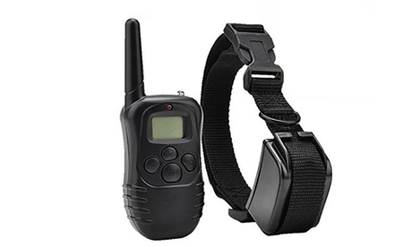 Remote Static and Vibration Dog Training Collar with Remote f1265f96-2c5f-11e7-b02b-00259069d7cc