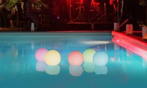 Boules LED avec télécommande