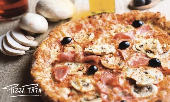 Menu Trio pour 2 ou 4 personnes dès 19,90 € à Pizza Papa de Toulouse ou L'Union