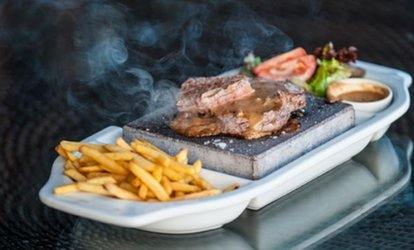 image for 10oz Steak on The Stone with Optional Bottle of Wine for Two at Vue Restaurant at Castleknock Golf Club (Up to 42% Off)