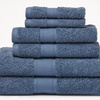 Wexley Home 600GSM 100% Egyptian Cotton Towel Set (6-Piece)
