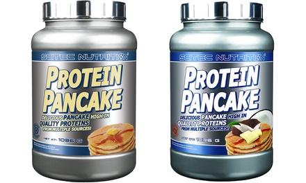 Preparato in polvere per pancake proteici Scitec Nutrition in formato da 1 kg disponibili in 4 gusti