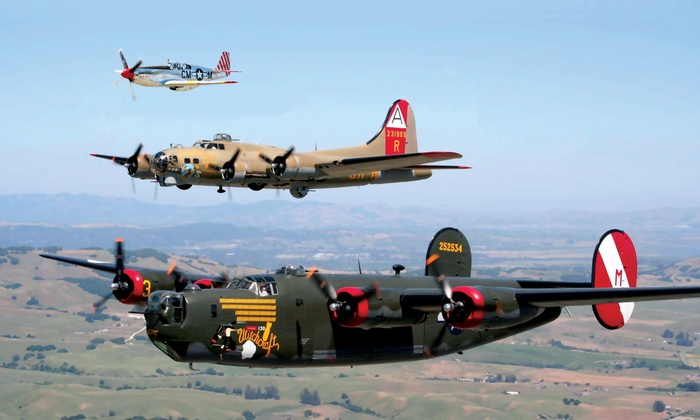 The Collings Foundation - Wings of Freedom tour - Multiple Locations: Single-Day Admission for Two or Four from The Collings Foundation (Up to 40% Off). Six Options Available.
