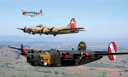Wings of Freedom Tour for Two or Four from The Collings Foundation (Up to 35% Off). Four Options Available.