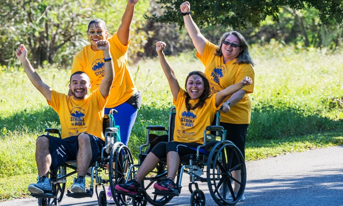 Stroll 'n' Roll Hosted By The Center for Independent Living - Harbor Park at Lake Baldwin: Admission for Two, Four, or Six People to the Annual Stroll 'n' Roll On October 31st (Up to 50% Off)