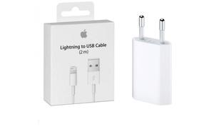 Câble Lightning® 2 m et/ou adaptateur secteur Apple