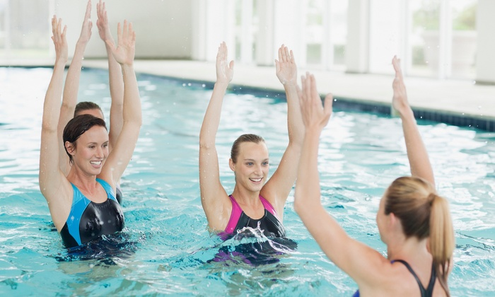 Aqua Motion Swim School - Pembroke Pines: One Month of Aqua Zumba Classes for One or Two at Aquamotion Swim School (Up to 45% Off)
