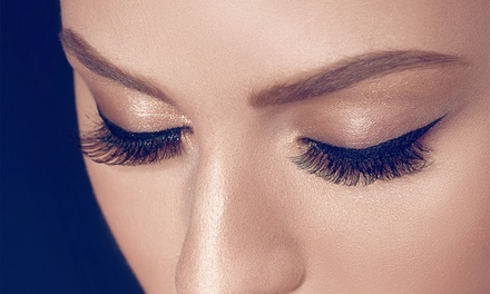 Full Set of Individual Eyelash Extensions at Aphrodite's Beauty Salon (50% Off)