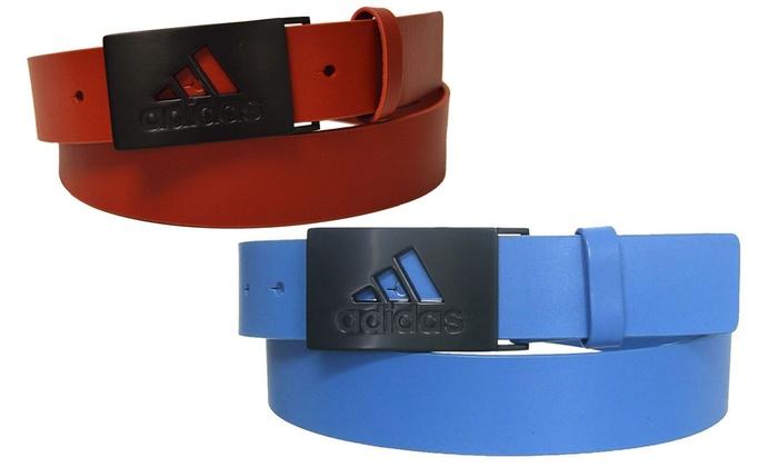 Adidas Men's Leather Golf Belt