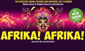"""Semmel Concerts: """"Afrika! Afrika!"""" – die spektakuläre Show im April 2018 im Capitol Theater Düsseldorf (bis zu 47% sparen)"""