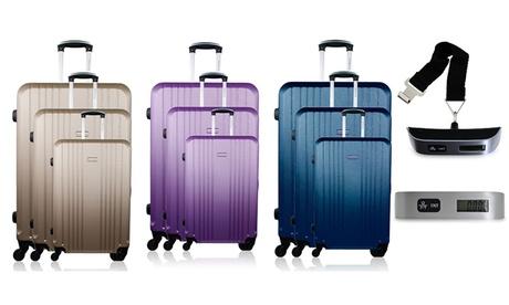 Set de 3 maletas modelo Europe por 109,90 € (82% de descuento)