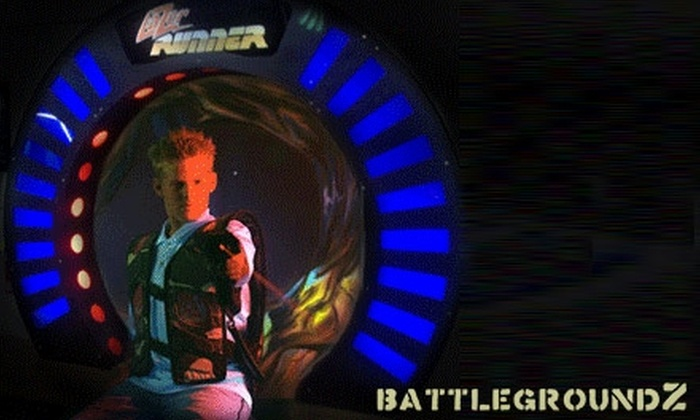 BattlegroundZ - Attleboro: $20 for Day-Long Unlimited Laser Tag and 60 Arcade Tokens from BattlegroundZ ($40 Value)