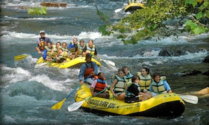 Endless River Adventures - Nantahala: $39 for a Guided Rafting Trip for Two ($78 Value) or $20 for a Self-Guided Rafting Trip ($40 Value) from Endless River Adventures