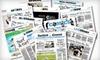 """Hartford Courant"" - Farmington: $26 for a One-Year Thursday–Sunday Subscription to the ""Hartford Courant"" ($184.60 Value)"