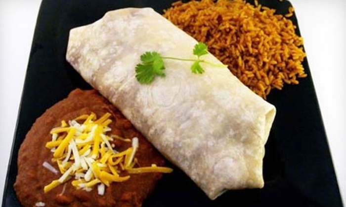 The Burrito Company - Woonsocket: $10 for $20 Worth of Mexican Fare and Drinks at The Burrito Company in Woonsocket