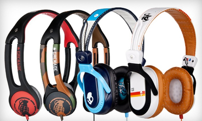 Skullcandy: Icon 2 Grenade Headphones or Agent Headphones with Shipping Included from Skullcandy