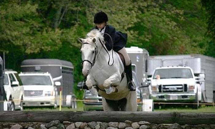 Hunter's Haven Farm - Groveland: $30 for One-Hour Private Horse-Riding Lesson at Hunter's Haven Farm in Groveland