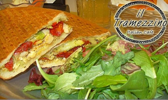 Il Tramezzino  - Multiple Locations: $10 for $20 Worth of European Fare and Drinks at Il Tramezzino