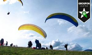 Aventura en Canarias: Vuelo de iniciación al parapente con piloto titulado y fotografía para una o dos personas desde 49,90 €