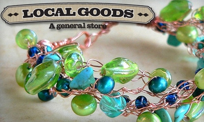 Local Goods - Buckman: $10 for $20 Worth of Locally Made Foodstuffs, Clothing, Gifts, and More at Local Goods
